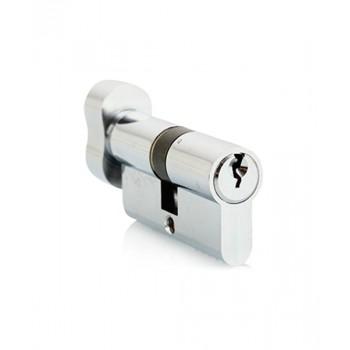 Ключевой цилиндр Adden Bau CYL 5-60 KNOB Хром (Товар № ZF212628)