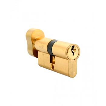 Ключевой цилиндр Adden Bau CYL 5-60 KNOB Золото (Товар № ZF212633)