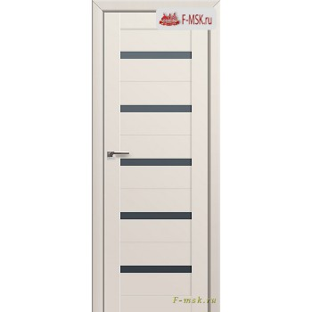 Межкомнатная дверь PROFIL DOORS. Модель 7u , Цвет: магнолия сатинат , Отделка: экошпон (Товар № ZF138491)