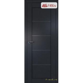 Межкомнатная дверь PROFIL DOORS. Модель 2.11u , Цвет: антрацит , Отделка: экошпон (Товар № ZF138553)