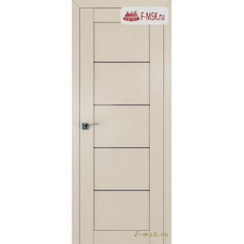 Межкомнатная дверь PROFIL DOORS. Модель 2.11u , Цвет: магнолия сатинат , Отделка: экошпон (Товар № ZF138551)