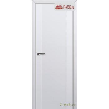 Межкомнатная дверь PROFIL DOORS. Модель 20u , Цвет: аляска , Отделка: экошпон (Товар № ZF138609)