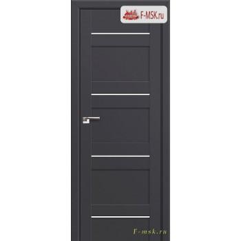 Межкомнатная дверь PROFIL DOORS. Модель 42u , Цвет: антрацит , Отделка: экошпон (Товар № ZF138648)