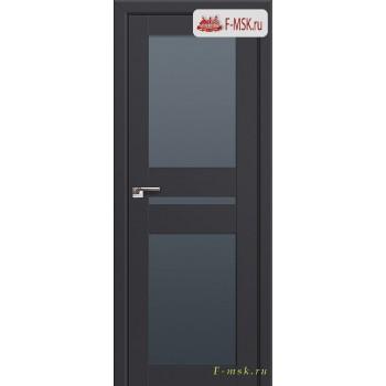 Межкомнатная дверь PROFIL DOORS. Модель 70u , Цвет: антрацит , Отделка: экошпон (Товар № ZF138705)