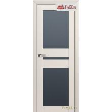 Межкомнатная дверь PROFIL DOORS. Модель 70u матовое стекло , Цвет: магнолия сатинат , Отделка: экошпон (Товар № ZF138707)