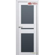Межкомнатная дверь PROFIL DOORS. Модель 70u матовое стекло , Цвет: аляска , Отделка: экошпон (Товар № ZF138708)