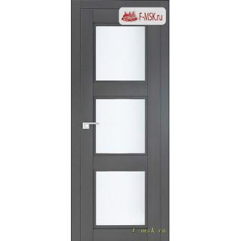 Межкомнатная дверь PROFIL DOORS. Модель 2.27 XN матовое стекло , Цвет: грувд серый , Отделка: экошпон (Товар № ZF138775)