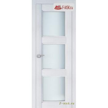 Межкомнатная дверь PROFIL DOORS. Модель 2.27 XN матовое стекло , Цвет: монблан , Отделка: экошпон (Товар № ZF138777)