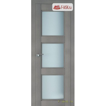Межкомнатная дверь PROFIL DOORS. Модель 2.27 XN матовое стекло , Цвет: стоун , Отделка: экошпон (Товар № ZF138778)