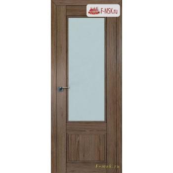 Межкомнатная дверь PROFIL DOORS. Модель 2.31 XN матовое стекло , Цвет: дуб темн. салинас , Отделка: экошпон (Товар № ZF138786)
