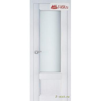 Межкомнатная дверь PROFIL DOORS. Модель 2.31 XN матовое стекло , Цвет: монблан , Отделка: экошпон (Товар № ZF138789)