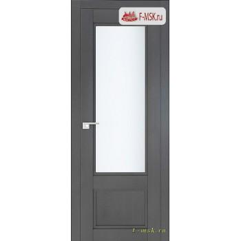 Межкомнатная дверь PROFIL DOORS. Модель 2.31 XN матовое стекло , Цвет: грувд серый , Отделка: экошпон (Товар № ZF138788)