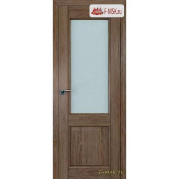 Межкомнатная дверь PROFIL DOORS. Модель 2.42 XN матовое стекло , Цвет: дуб темн. салинас , Отделка: экошпон (Товар № ZF138798)