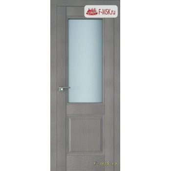 Межкомнатная дверь PROFIL DOORS. Модель 2.42 XN матовое стекло , Цвет: стоун , Отделка: экошпон (Товар № ZF138802)