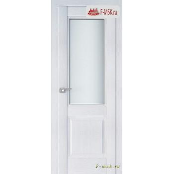 Межкомнатная дверь PROFIL DOORS. Модель 2.42 XN матовое стекло , Цвет: монблан , Отделка: экошпон (Товар № ZF138801)