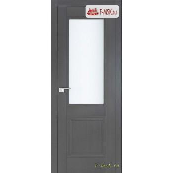 Межкомнатная дверь PROFIL DOORS. Модель 2.42 XN матовое стекло , Цвет: грувд серый , Отделка: экошпон (Товар № ZF138800)