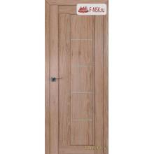 Межкомнатная дверь PROFIL DOORS. Модель 2.10 XN матовое стекло , Цвет: дуб свет. салинас , Отделка: экошпон (Товар № ZF138853)