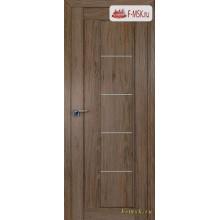 Межкомнатная дверь PROFIL DOORS. Модель 2.10 XN матовое стекло , Цвет: дуб темн. салинас , Отделка: экошпон (Товар № ZF138854)