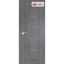 Межкомнатная дверь PROFIL DOORS. Модель 2.10 XN матовое стекло , Цвет: грувд серый , Отделка: экошпон (Товар № ZF138855)