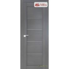 Межкомнатная дверь PROFIL DOORS. Модель 2.11 XN матовое стекло , Цвет: грувд серый , Отделка: экошпон (Товар № ZF138862)