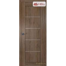 Межкомнатная дверь PROFIL DOORS. Модель 2.11 XN матовое стекло , Цвет: дуб темн. салинас , Отделка: экошпон (Товар № ZF138860)