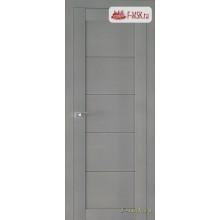 Межкомнатная дверь PROFIL DOORS. Модель 2.11 XN матовое стекло , Цвет: стоун , Отделка: экошпон (Товар № ZF138864)