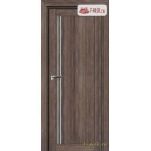 Межкомнатная дверь PROFIL DOORS. Модель 2.50 XN матовое стекло , Цвет: дуб темн. салинас , Отделка: экошпон (Товар № ZF138865)