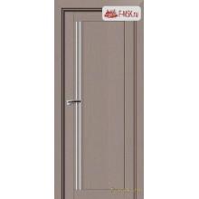 Межкомнатная дверь PROFIL DOORS. Модель 2.50 XN матовое стекло , Цвет: стоун , Отделка: экошпон (Товар № ZF138869)