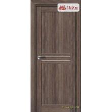 Межкомнатная дверь PROFIL DOORS. Модель 2.55 XN матовое стекло , Цвет: дуб темн. салинас , Отделка: экошпон (Товар № ZF138878)
