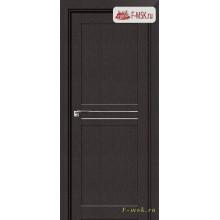 Межкомнатная дверь PROFIL DOORS. Модель 2.55 XN матовое стекло , Цвет: дарк браун , Отделка: экошпон (Товар № ZF138879)