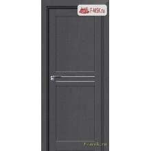 Межкомнатная дверь PROFIL DOORS. Модель 2.55 XN матовое стекло , Цвет: грувд серый , Отделка: экошпон (Товар № ZF138880)