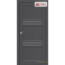 Межкомнатная дверь PROFIL DOORS. Модель 2.57 XN матовое стекло , Цвет: грувд серый , Отделка: экошпон (Товар № ZF138891)