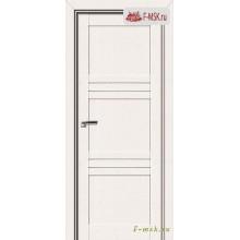 Межкомнатная дверь PROFIL DOORS. Модель 2.57 XN матовое стекло , Цвет: монблан , Отделка: экошпон (Товар № ZF138894)