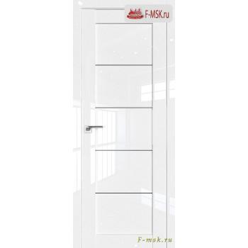 Межкомнатная дверь PROFIL DOORS. Модель 2.11 L , Цвет: белый люкс , Отделка: глянец (Товар № ZF139096)