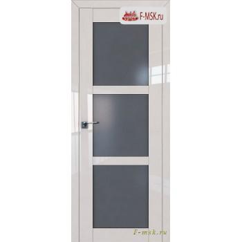 Межкомнатная дверь PROFIL DOORS. Модель 2.13 L матовое , Цвет: магнолия люкс , Отделка: глянец (Товар № ZF139103)