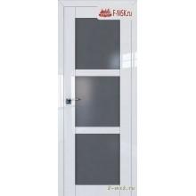 Межкомнатная дверь PROFIL DOORS. Модель 2.13 L матовое , Цвет: белый люкс , Отделка: глянец (Товар № ZF139104)