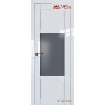 Межкомнатная дверь PROFIL DOORS. Модель 2.15 L матовое , Цвет: белый люкс , Отделка: глянец (Товар № ZF139112)