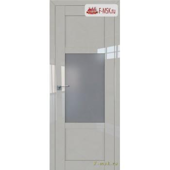 Межкомнатная дверь PROFIL DOORS. Модель 2.15 L матовое , Цвет: галька серая , Отделка: глянец (Товар № ZF139114)