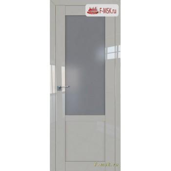 Межкомнатная дверь PROFIL DOORS. Модель 2.17 L матовое , Цвет: галька серая , Отделка: глянец (Товар № ZF139121)