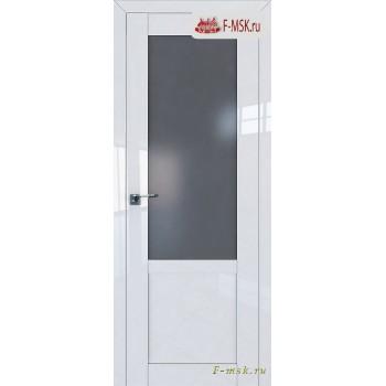 Межкомнатная дверь PROFIL DOORS. Модель 2.17 L матовое , Цвет: белый люкс , Отделка: глянец (Товар № ZF139120)