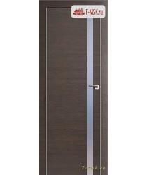 Межкомнатная дверь PROFIL DOORS. Модель 17 z прозрачное стекло , Цвет: грэй кроскут , Отделка: экошпон (Товар № ZF139243)