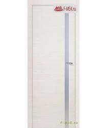 Межкомнатная дверь PROFIL DOORS. Модель 17 z прозрачное стекло , Цвет: вайт эш кроскут , Отделка: экошпон (Товар № ZF139245)