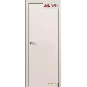 Межкомнатная дверь PROFIL DOORS. Модель 1 E , Цвет: магнолия сатинат , Отделка: экошпон (Товар № ZF139250)