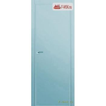 Межкомнатная дверь PROFIL DOORS. Модель 1 E , Цвет: манхеттэн , Отделка: экошпон (Товар № ZF139249)