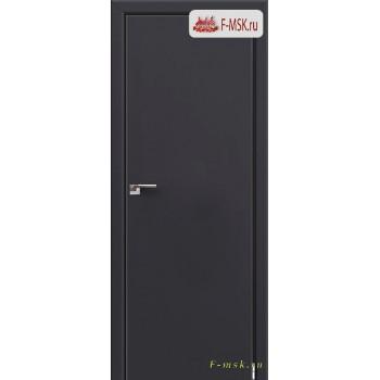 Межкомнатная дверь PROFIL DOORS. Модель 1 E , Цвет: антрацит , Отделка: экошпон (Товар № ZF139252)
