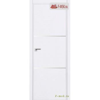 Межкомнатная дверь PROFIL DOORS. Модель 2 E молдинг AL , Цвет: аляска , Отделка: экошпон (Товар № ZF139254)