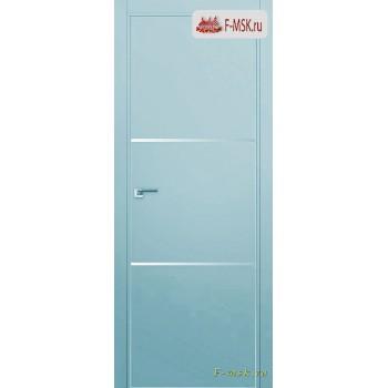 Межкомнатная дверь PROFIL DOORS. Модель 2 E молдинг AL , Цвет: манхеттэн , Отделка: экошпон (Товар № ZF139255)