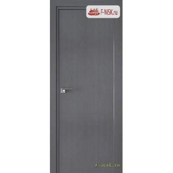 Межкомнатная дверь PROFIL DOORS. Модель 1 ZN , Цвет: грувд серый , Отделка: экошпон (Товар № ZF139315)