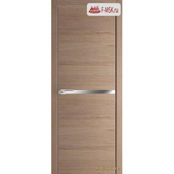 Межкомнатная дверь PROFIL DOORS. Модель 11 ZN молдинг AL , Цвет: дуб свет. салинас , Отделка: экошпон (Товар № ZF139373)