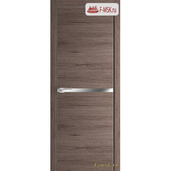 Межкомнатная дверь PROFIL DOORS. Модель 11 ZN молдинг AL , Цвет: дуб темн. салинас , Отделка: экошпон (Товар № ZF139374)